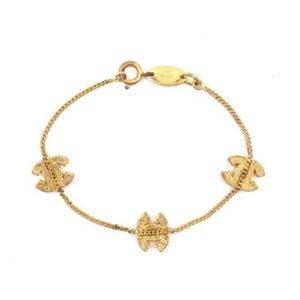 a4a69072dc03 Cc Smoked Crystals Charms Chain Bracelet